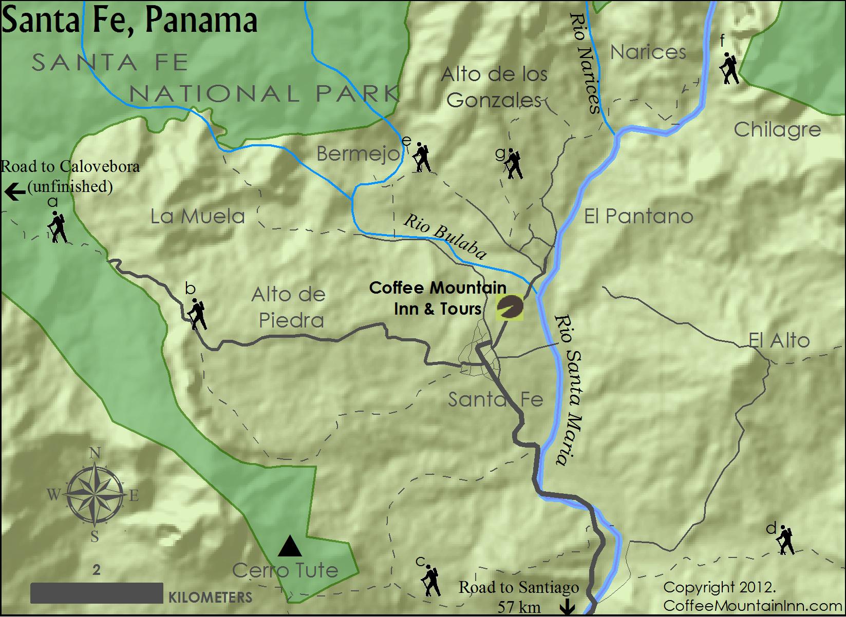 Trail and Hiking Optionns, Santa Fe